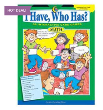 I Have, Who Has? Interactive Math Card Games 5-6