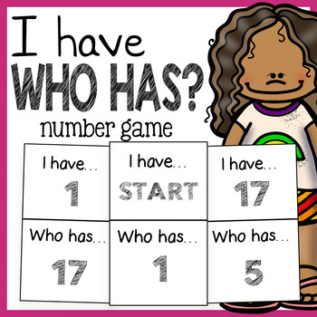 I Have Who Has Numbers Game