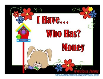 I Have... Who Has?  Money