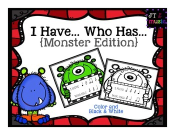 I Have, Who Has (Monster Edition)