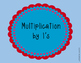 I Have, Who Has - Multiplication Edition
