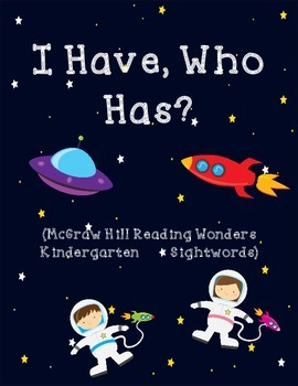 I Have, Who Has - Outer Space Theme (Wonders Words)