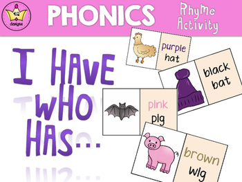 I Have Who Has Phonics Game