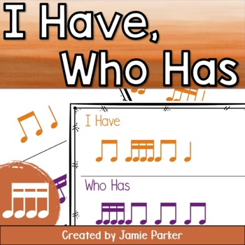 I Have, Who Has Rhythm Game: Sixteenth Note