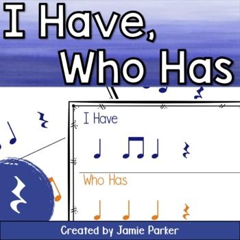 I Have, Who Has Rhythm Game: Ta, Ti-Ti, Rest