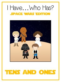I Have Who Has SPACE WARS Math Folder Game Expanded Form T