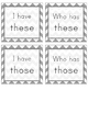 I Have, Who Has Sight Word Game (Grade 2)