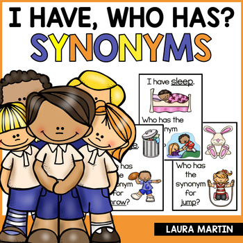 I Have, Who Has-Synonyms