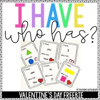 Valentine's Day Game {FREEBIE}