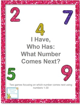 I Have, Who Has: What Number Comes Next (1-30)?
