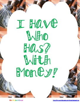 I Have Who Has...? With Change