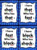 I Have... Who Has..? short a with blends and digraphs Comm