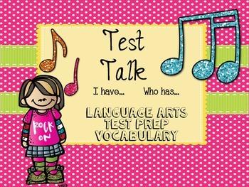 I Have...Who Has... ELA Vocabulary for TEST PREP