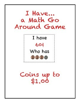 I Have..Who Has Game-Coins to $1.00