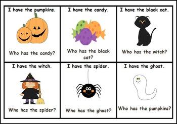 I Have...Who Has...Halloween Freebie