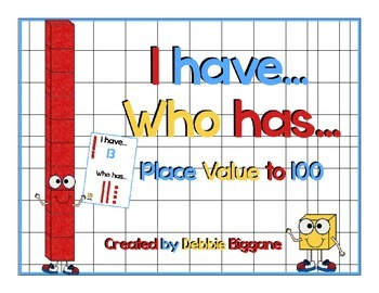 I Have...Who Has?....Place Value to 100