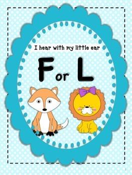 I Hear F or L: Initial Sound Discrimination