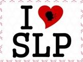 I Heart SLP Poster