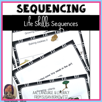 I Heart Sequences 2 for Life Skills Speech Therapy with Te