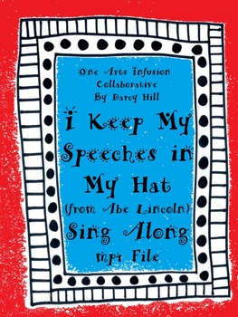 I Keep My Speeches In My Hat Sing Along mp4 File-(from Abe