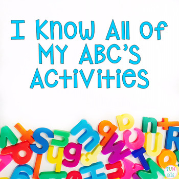 I Know All of My Abc's