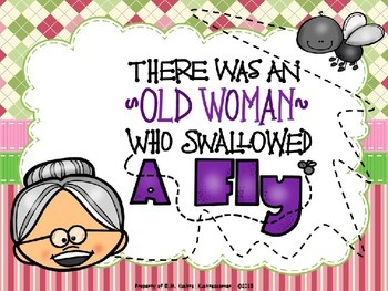 There Was An Old Lady...Fly (PPT Edition) - Editable Text Option