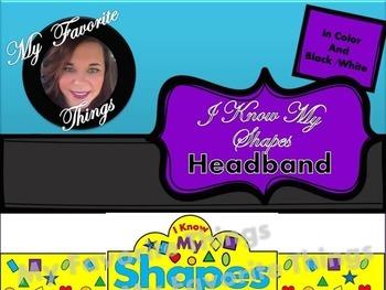 I Know My Shapes-Headband