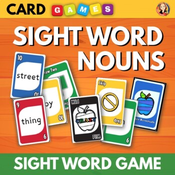 I Know Nouns - Dolch Sight Word Nouns Review Game