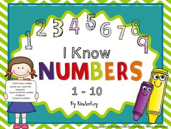 I Know Numbers 1 to 10