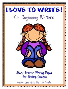 Writing: Story Starters & Writing Pages for Beginning Writ