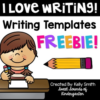 I LOVE Writing! FREEBIE!