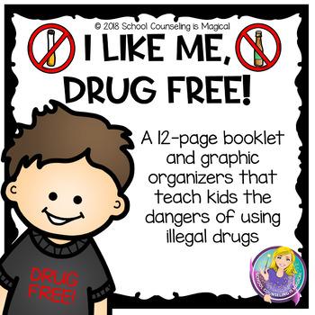 I Like Me...Drug Free (Red Ribbon Week)