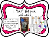 """I """"Like"""" this book, bookmarks"""
