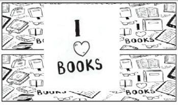 I Love Books/ I Heart Books Valentine Bookmarks Printable