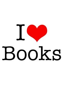 """I Love Books"" Poster Freebie"