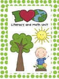 I Love Earth Literacy and Math Unit