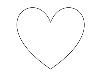 I Love Learning Hearts Project W.4.1a W.3.1a W.2.1 W.1.1