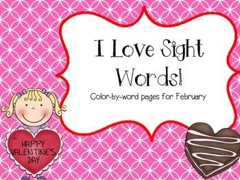 I Love Sight Words