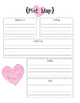 Somebody Loves You Mr. Hatch Valentine's Day Packet