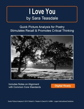 """""""I Love You"""" by Sara Teasdale: Quick Picture Analysis"""