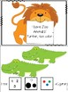 I Love Zoo Animals Adapted Book, Yes/ No Clips