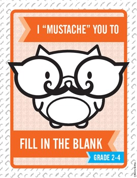 """I """"Mustache"""" You to Fill in the Blank:  Shades of Meaning"""