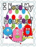 I Need My Monster {A Creative Writing Unit}