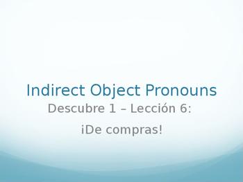 Indirect Object Pronoun Practice