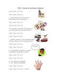 I PICK Song in Spanish