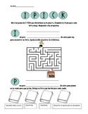 I PICK Spanish Review Worksheet