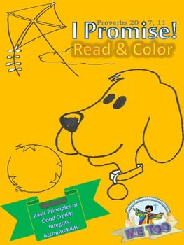 """""""I Promise"""" Read & Color"""