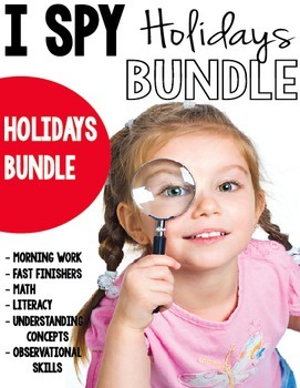 I SPY Holiday Bundle