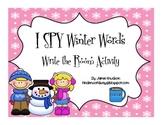 I SPY Winter Words: Write The Room