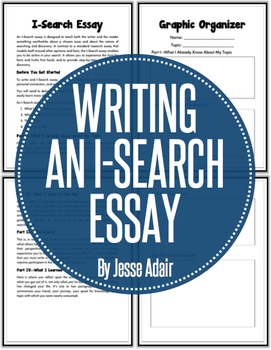 English: Writing An I-Search Essay Grades 6 - 12